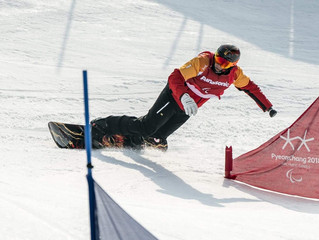 Prepping for Bank Slalom first debut at Paralympic games
