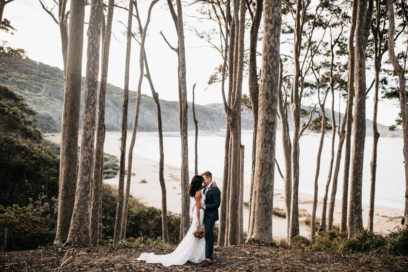 South Coast Elopement Shot by Matt Ashton Photography South Durras Elopement Wedding