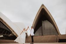 Rochelle & Barry's Sydney CBD Wedding