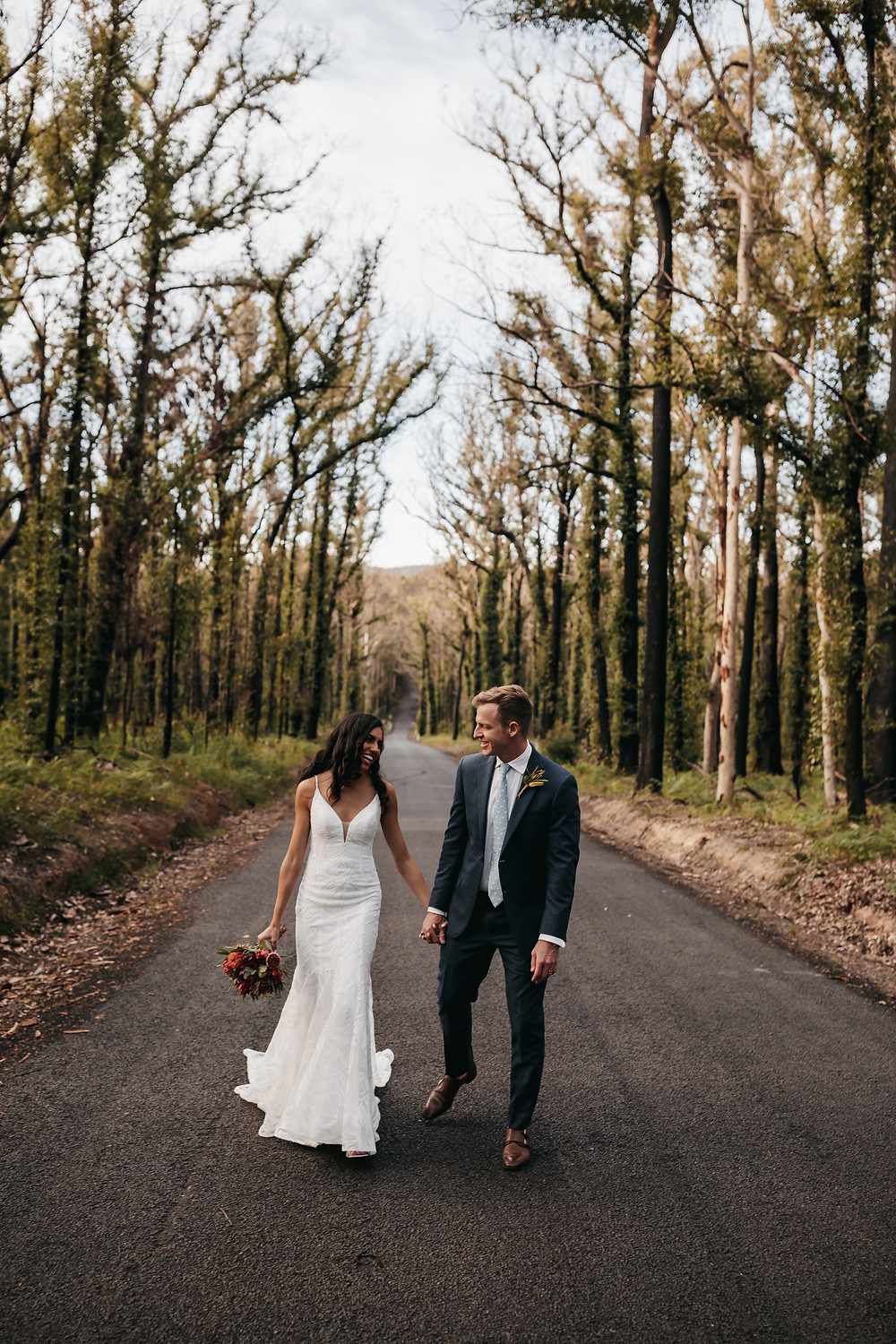South Coast elopement of a couple on the south coast in Kiama nsw. Shot by Wedding and elopement photographer Matt Ashton Photography