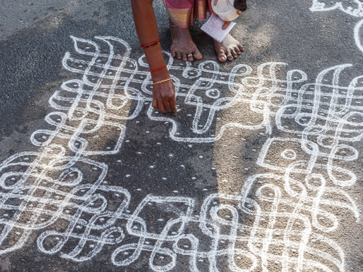 Kolam and Country: the art of welcome in modern America