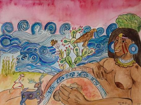 Land Back: Kauyumari en la tierras de Tonantzin