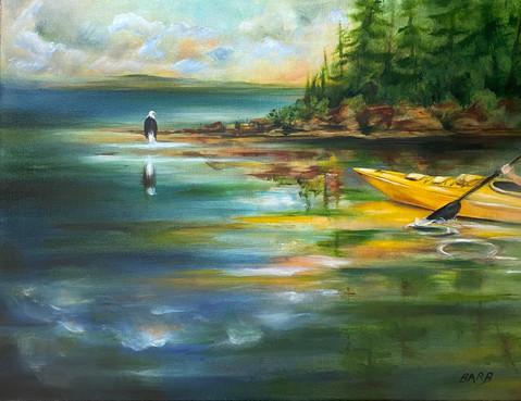 Kayaking With My Spirit Animal