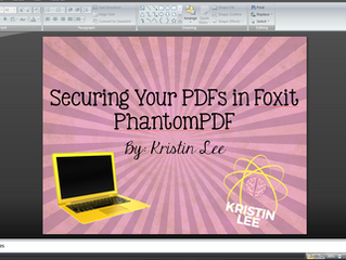 Secure your PDFs with FoxitPhantomPDF