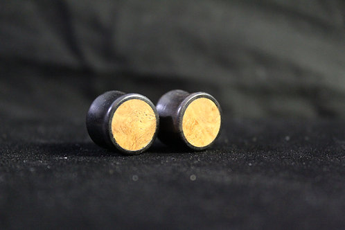 Two-Tone Wood Plugs