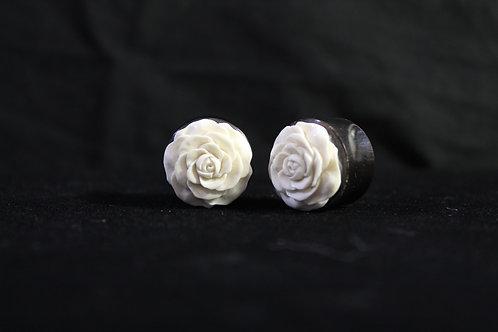 Carved Rose Plugs
