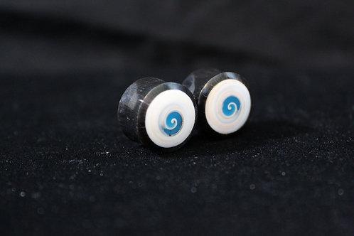 Abalone Spiral Plugs