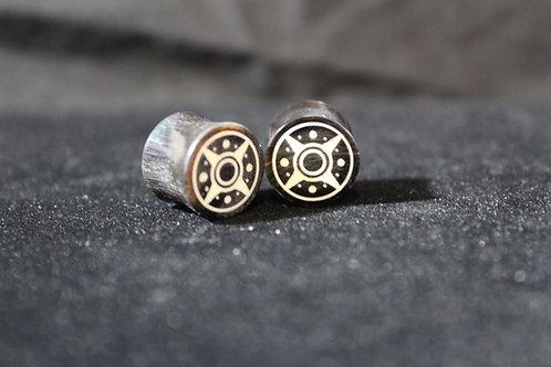 Compass Inlay Plugs