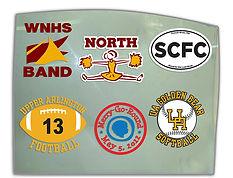 Sticker, Window Vinyl, Custom Vinyl and Stickers