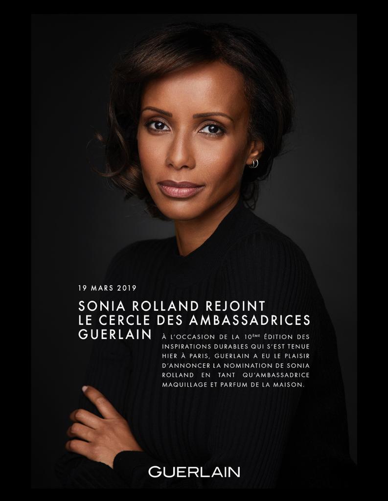Sonia Rolland pour Guerlain