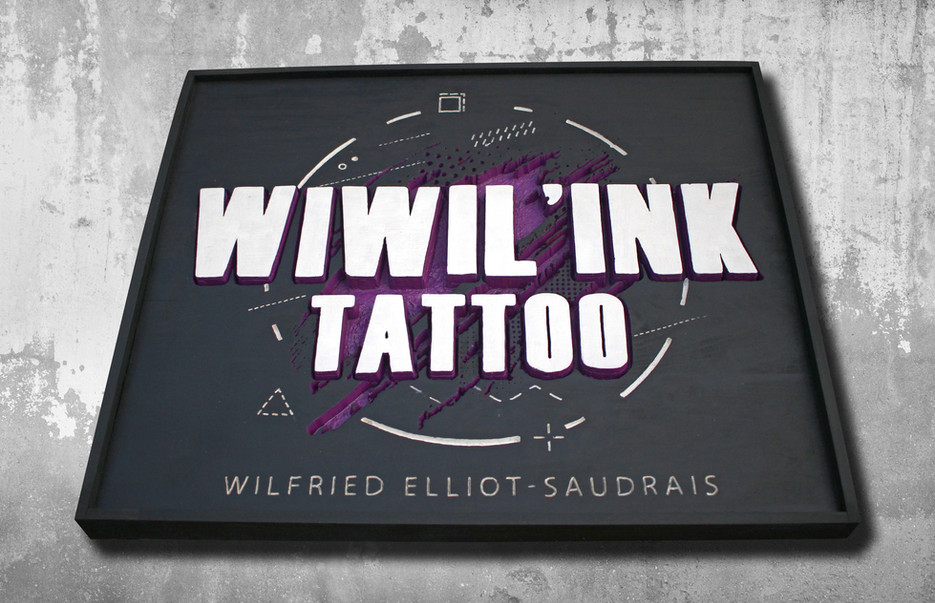 Cadre pour Wiwil'Ink tattoo