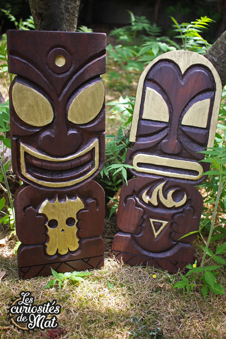 Tiki plates for M