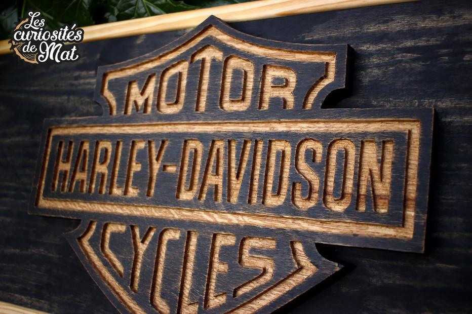 Support Harley Davidson pour casques de moto