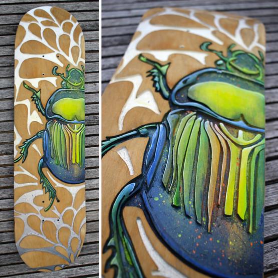 Skate scarabée