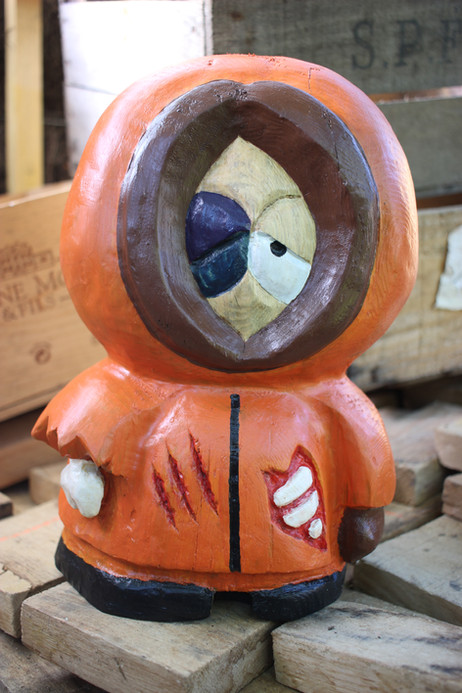 "Sculpture ""Dead Kenny"" South Park inspiration / Culture Pop"