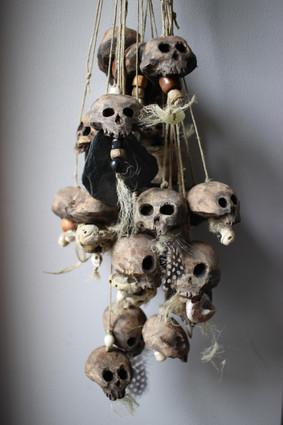 Grigris têtes de mort / Skull / Amulettes porte bonheur