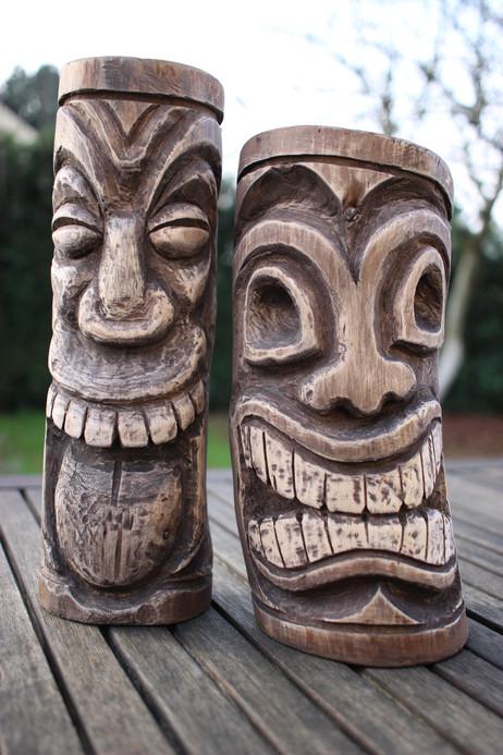 Tikis sculptures personnalisées
