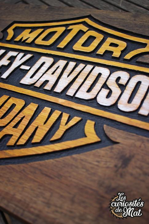 """Cadre """"Harley-Davidson"""" custom"""