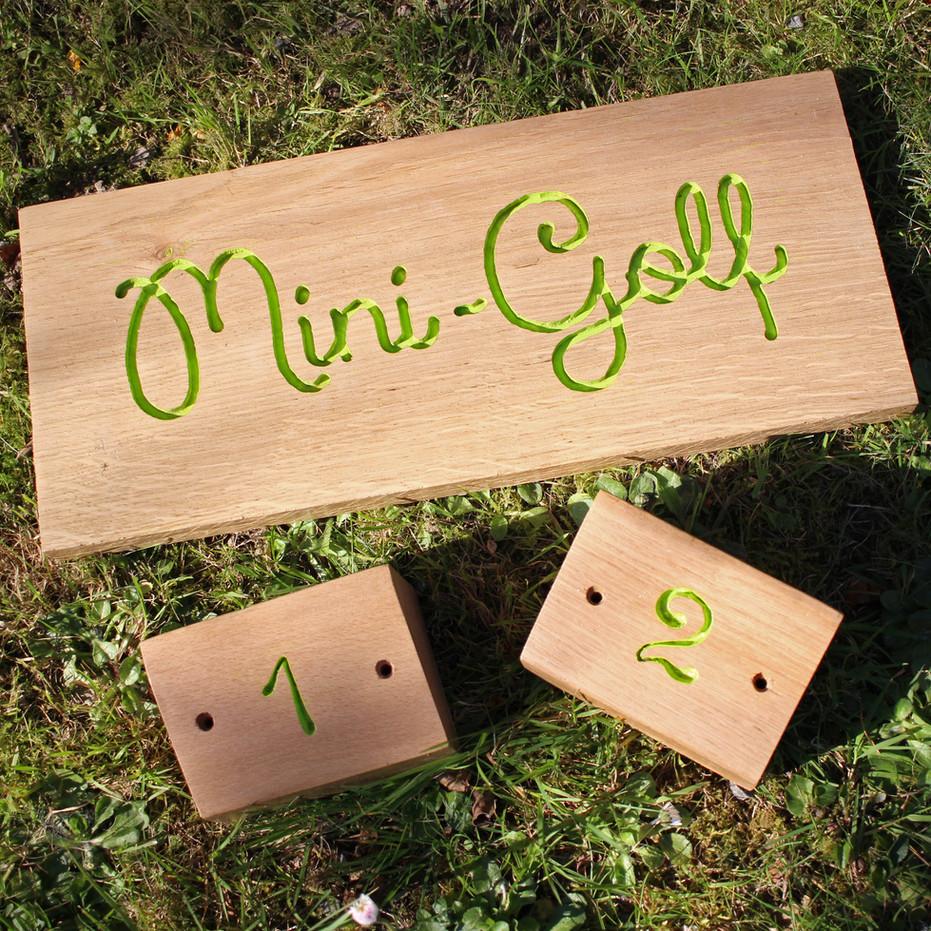 Plots Mini-Golf camping
