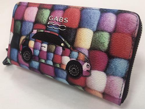 GABS  FIAT500 長財布