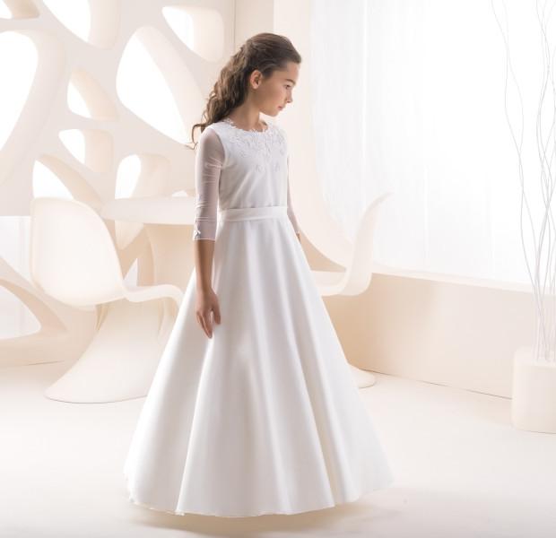 Kinderkleid Kinderkleider Kommunionskleid Kommunion Konfirmation Blumenkind Bajabella K 224