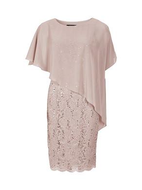 Abendkleid Abiballkleid Ballkleid Swing kurz rosa
