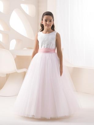 Kinderkleid Kinderkleider Kommunionskleid Kommunion Konfirmation Blumenkind Bajabella K 8