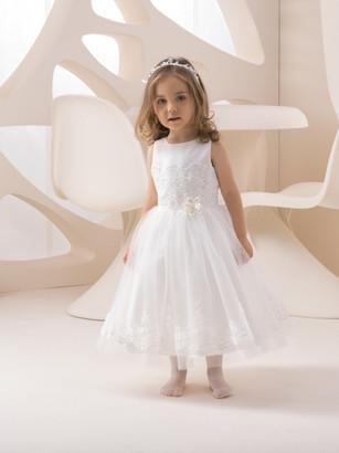 Kinderkleid Kinderkleider Kommunionskleid Kommunion Konfirmation Blumenkind Bajabella K 220