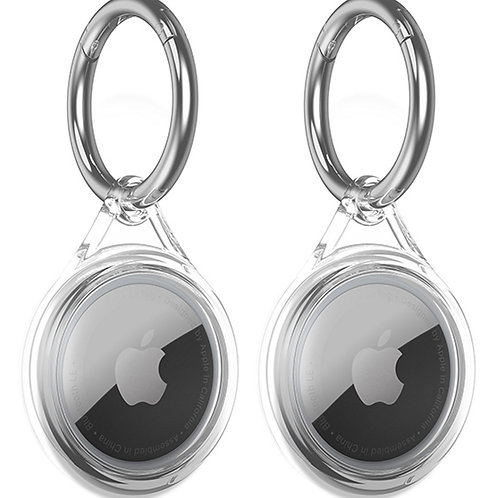 PopSmart Compatible with Apple AirTags Case Clear
