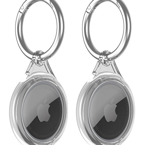 PopSmart Compatible with Apple AirTags Case Grey