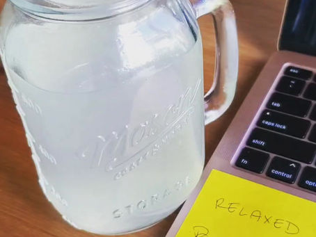 Hot Lemon Water + Good Zhuzh
