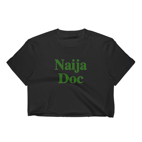 Naija Doc Crop Top