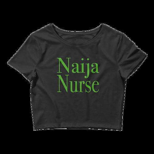Naija Nurse Crop Top