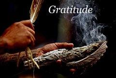gratitude, hochets chamaniques