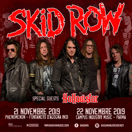 SKID ROW Invades Italy!