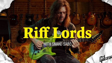 Riff Lords w/ Snake presented by Gibson Guitars 🎸