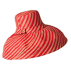 Red & Natural Large Stripe - SOLD OUT