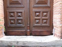 Restauration de porte d'entrée