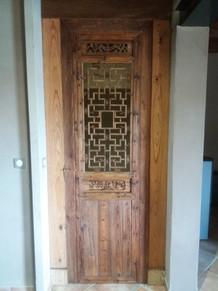 La porte installée