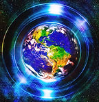 1-planet-earth-in-light-circle-with-ligh