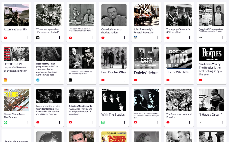 1963: Assassination of JFK shocks the world
