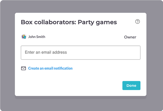 Manage box collaborators