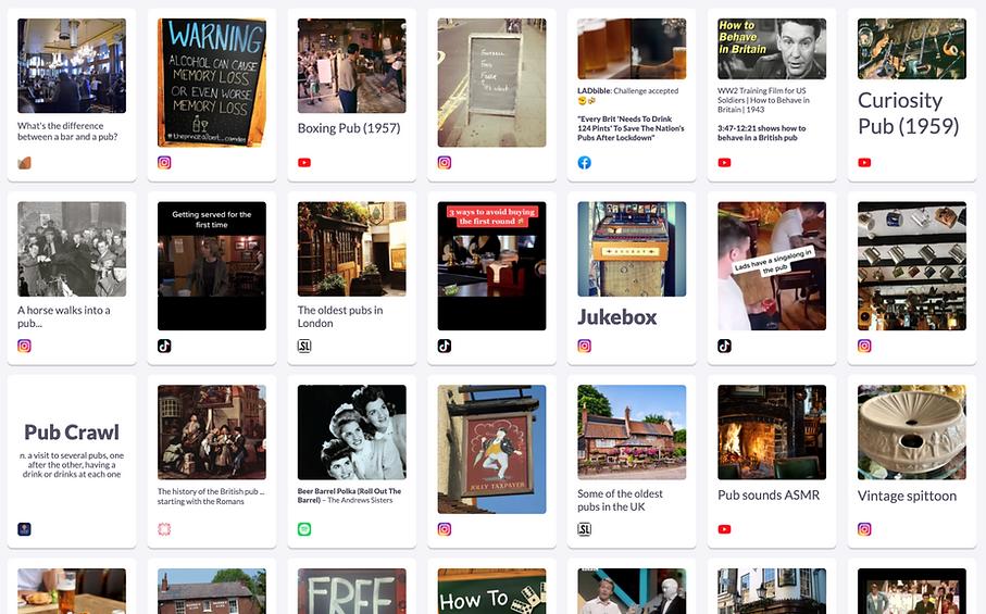 Exploring the culture of the British pub