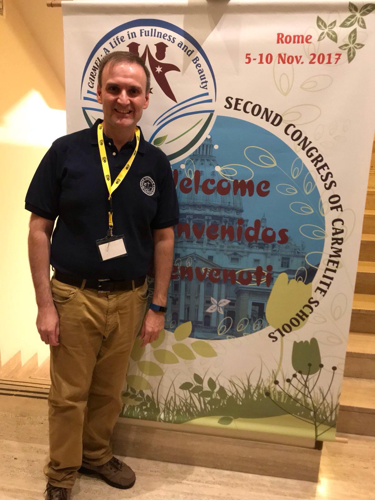 Fr. Eduardo Scarel, O.Carm.,Spain, a
