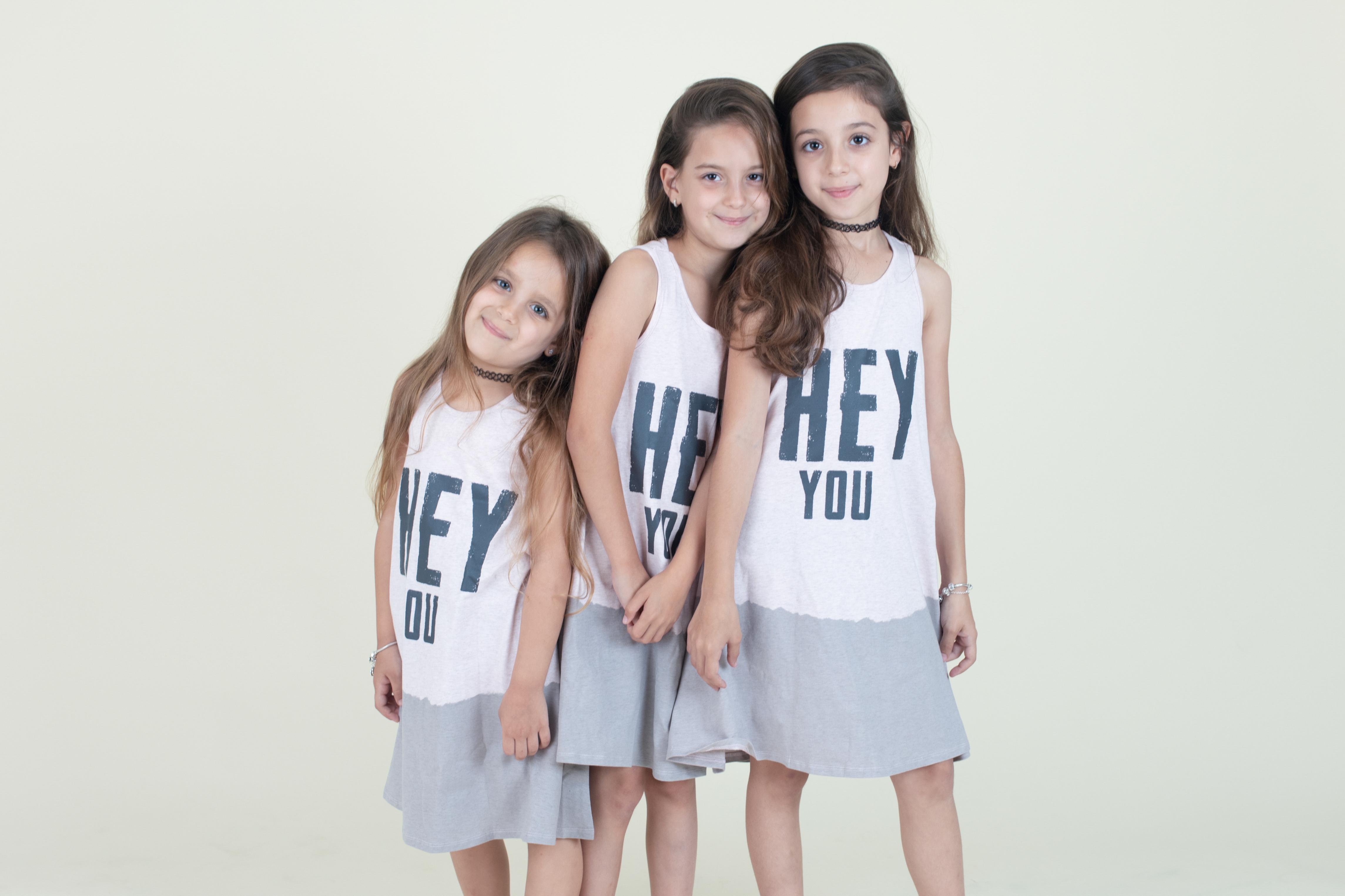 משפחה בסטודיו ילדים