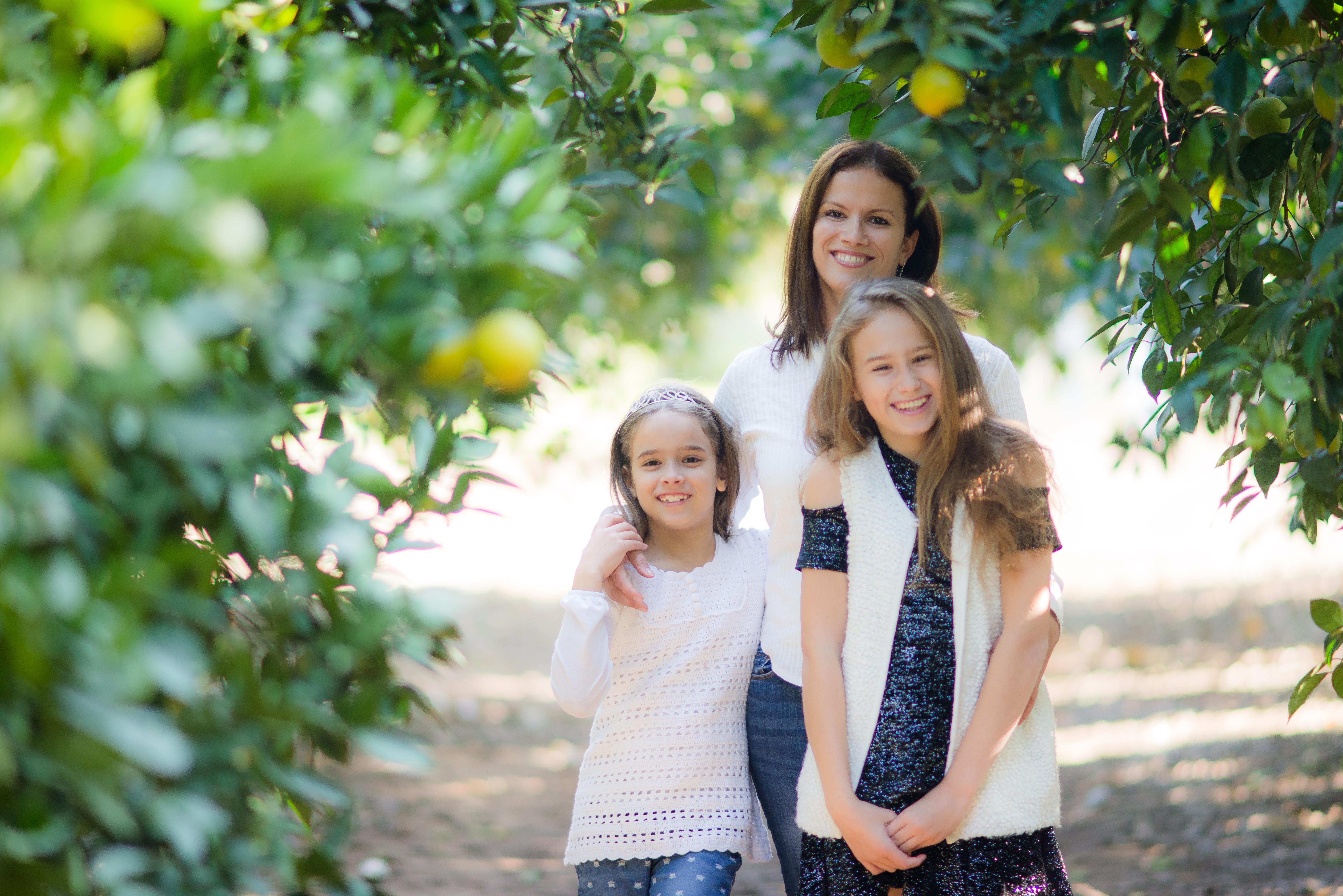 צילומי בת מצווה ומשפחה בטבע