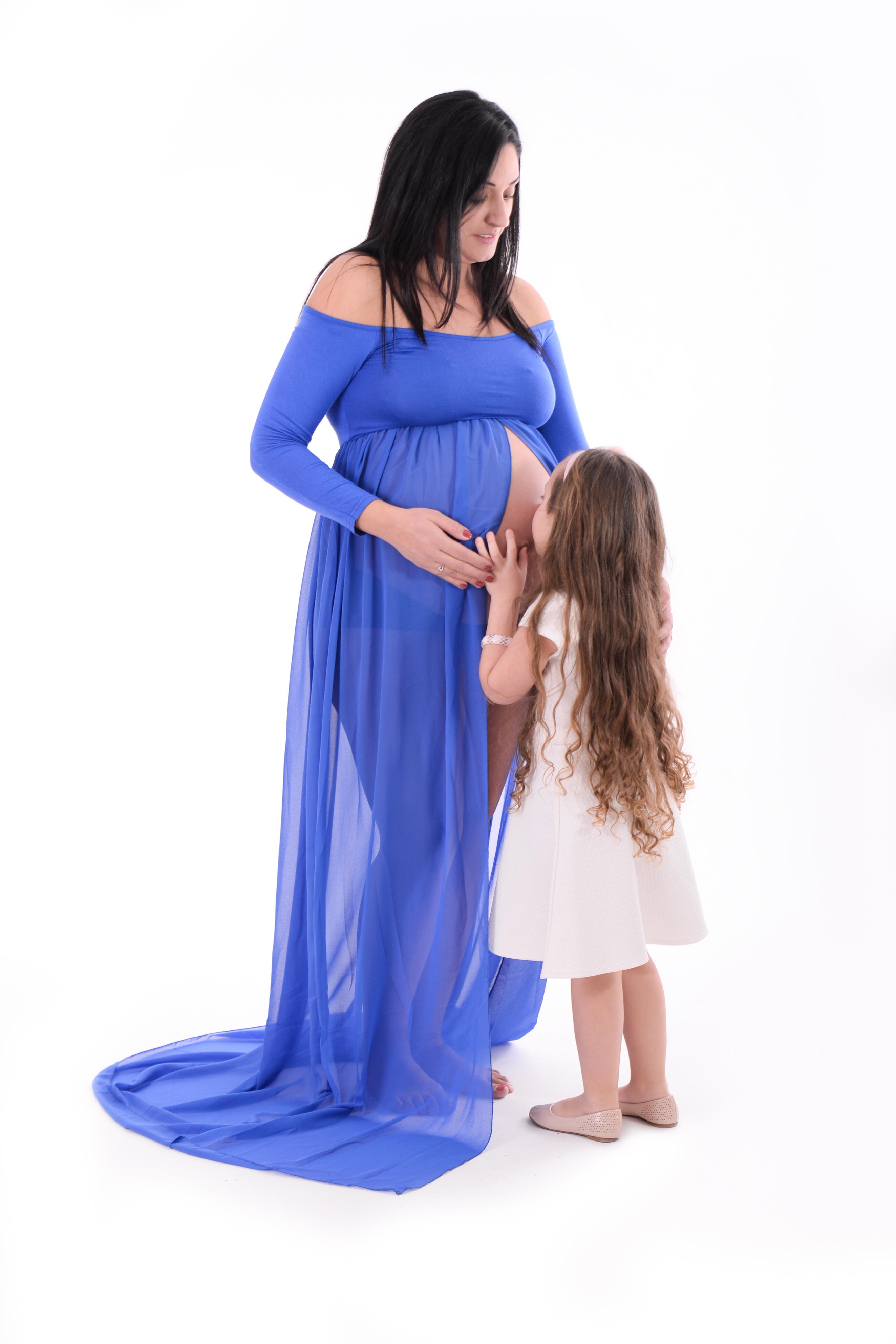 צילומי הריון בסטודיו