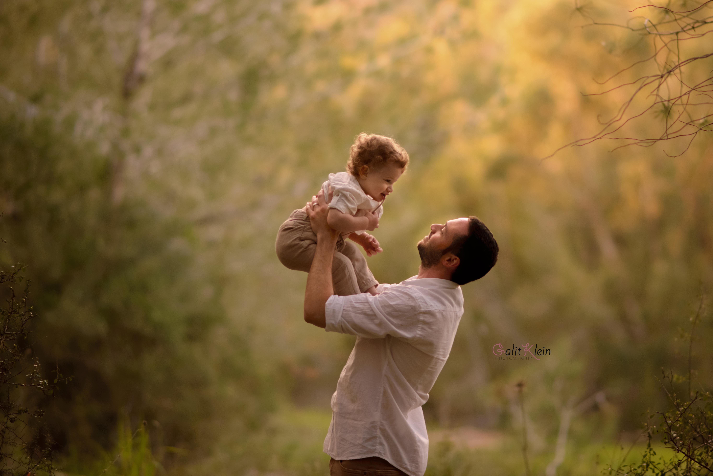 צילומי הריון ומשפחה בטבע