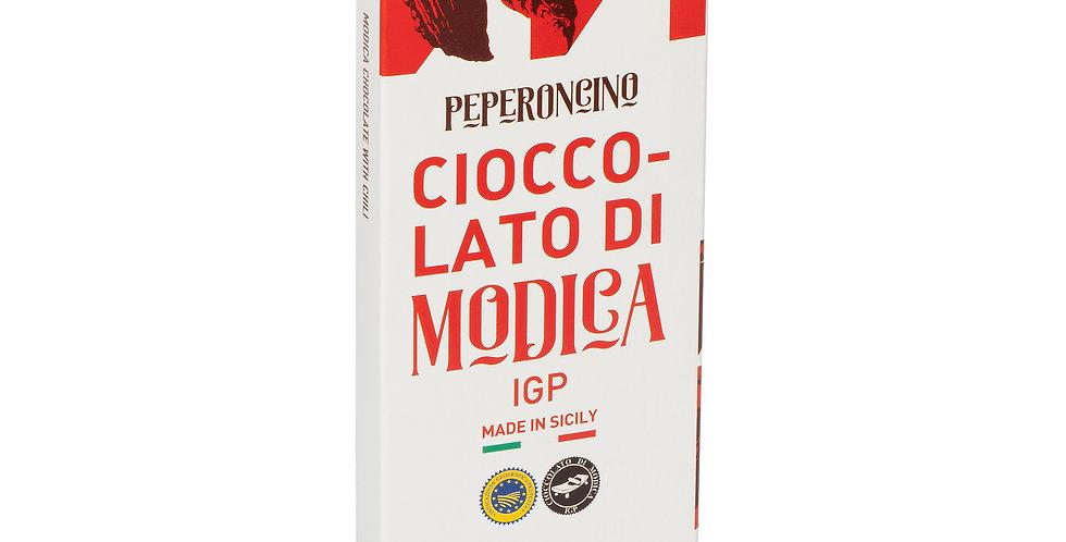 CIOCCOLATO DI MODICA AL PEPERONCINO IGP