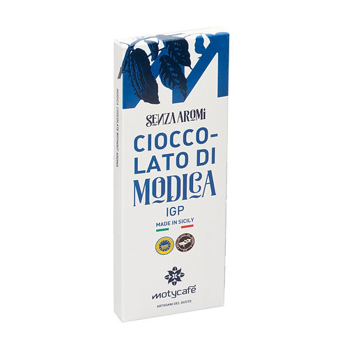 CHOCOLATE OF MODICA WITHOUT AROMA IGP